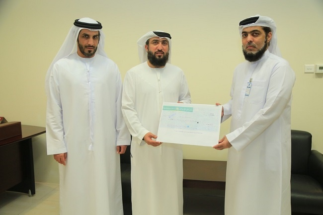 Dubai Islamic provide a check of more t