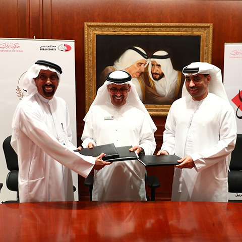Dubai Islamic Signs MoU with Courts and..