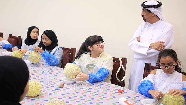 '' our summer activity is fun and useful '' at Princess Haya centers Al Mezher branch