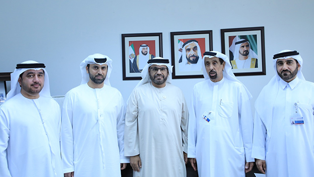 Meeting of the Director General with the Abu Dhabi Awqaf Authority at Mohammed Bin Rashid Center - 02/07/2018