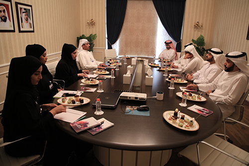 Meeting with the donor of Mosques on June 21