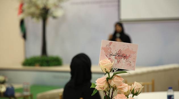 Emirati women are a symbol of tolerance