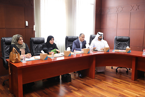 Meeting with Dubai Municipality in Hall 14