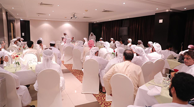 The official Hajj mission of the Government of Dubai visits  the landmarks in Medina