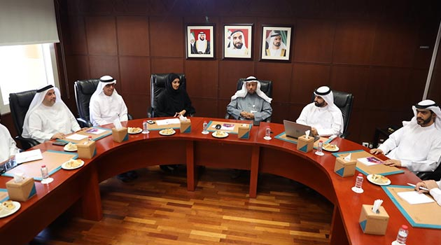 IACAD in Dubai receives a delegation from the General Authority of Islamic Affairs and Endowments
