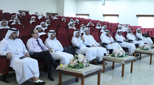 IACAD Organizes an enlightening meeting for guests of the official Hajj mission of the Government of Dubai 2018