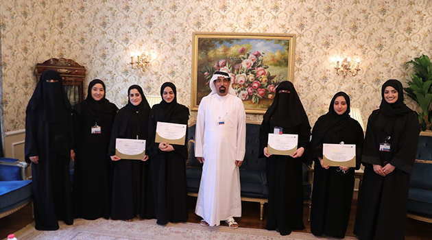 "Dubai Islamic honoring the participants of ""Opportunity"" Program"