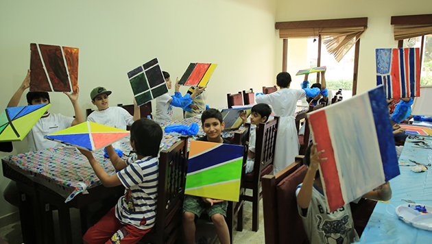 The opening of '' our summer activity is fun and useful '' at Princess Haya centers Umm Elshief branch